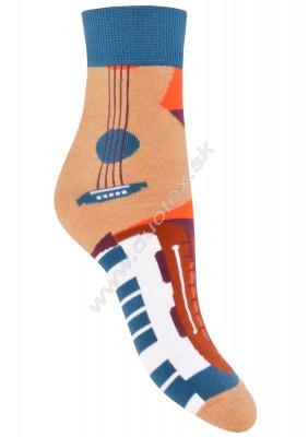 Vzorované ponožky Steven-060-210