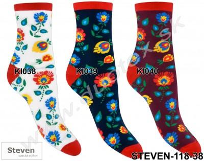 Dámske ponožky Steven-118-38