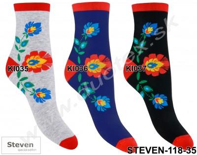 Dámske ponožky Steven-118-35