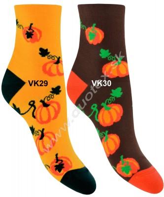 Vzorované ponožky Steven-159-29
