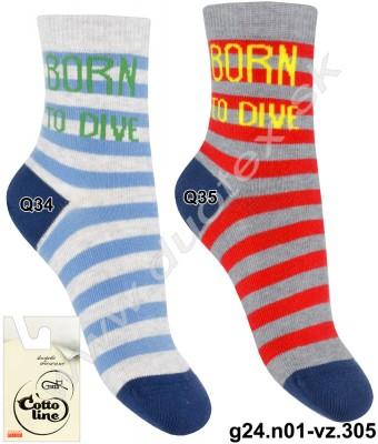 Detské ponožky g24.n01-vz.305