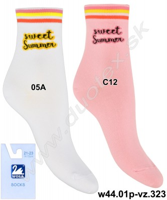Detské ponožky w44.01p-vz.323