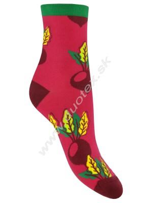 Vzorované ponožky Steven-159-37