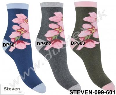 Vzorované ponožky Steven-099-601