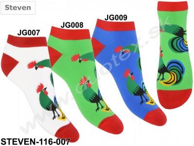 Členkové ponožky Steven-116D-007