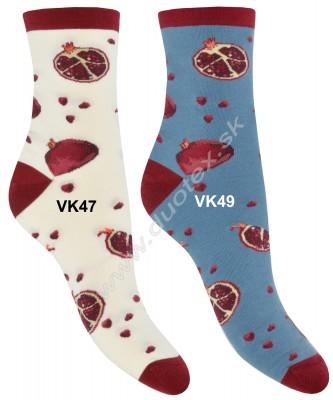 Vzorované ponožky Steven-159-47