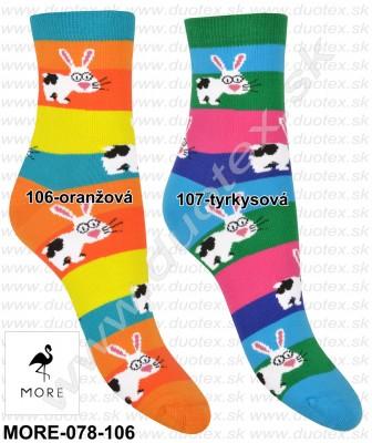 Vzorované ponožky More-078-106