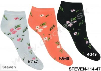 Dámske ponožky Steven-114-47