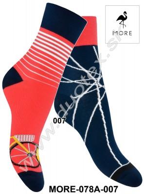 Dámske ponožky More-078A-007