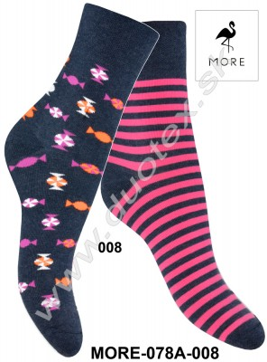 Dámske ponožky More-078A-008