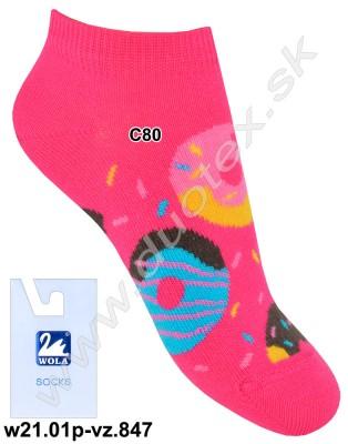 Detské ponožky w21.01p-vz.847