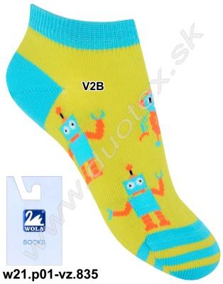 Členkové ponožky w21.p01-vz.835