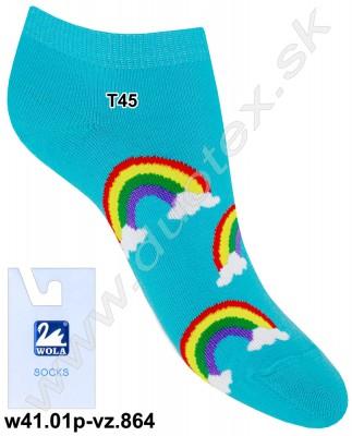 Detské ponožky w41.01p-vz.864