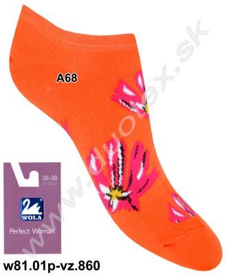 Dámske ponožky w81.01p-vz.860