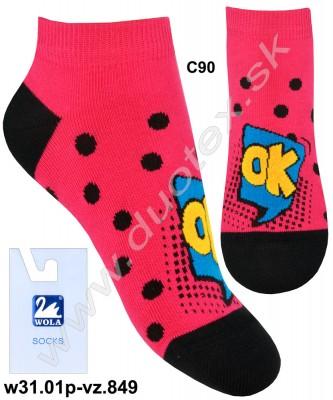 Detské ponožky w31.01p-vz.849