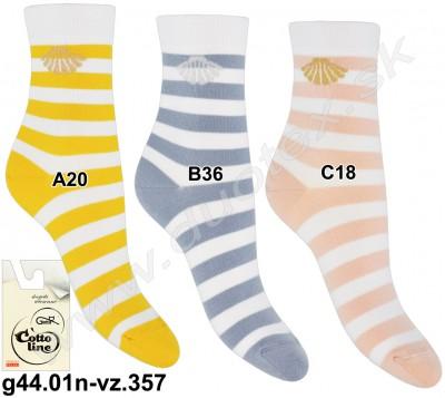 Vzorované ponožky g44.01n-vz.357