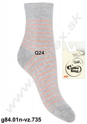 Dámske ponožky g84.01n-vz.735
