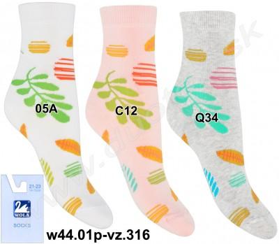 Vzorované ponožky w44.01p-vz.316