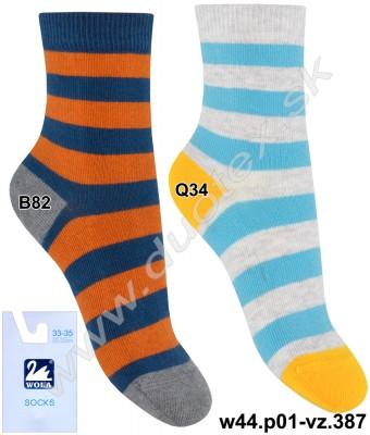 Vzorované ponožky w44.p01-vz.387