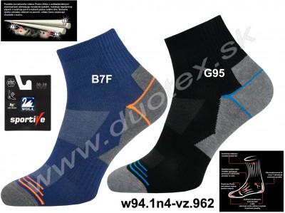 Bavlnené ponožky w94.1n4-vz.962