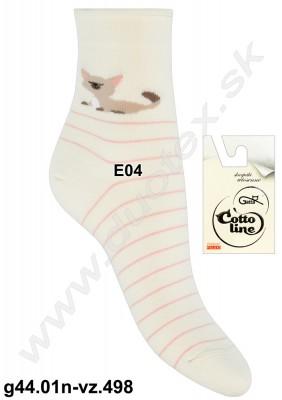 Vzorované ponožky g44.01n-vz.498