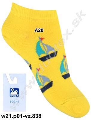 Detské ponožky w21.p01-vz.838