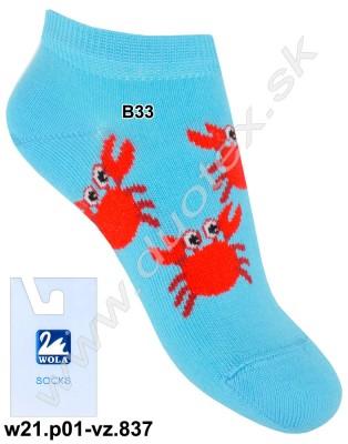 Detské ponožky w31.p01-vz.837
