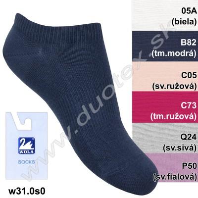 Členkové ponožky w31.0s0