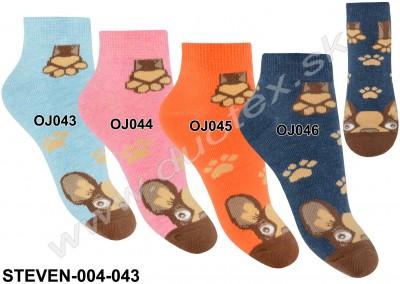 Detské ponožky Steven-004-043