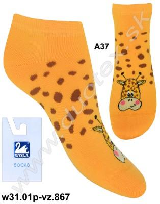 Detské ponožky w31.01p-vz.867