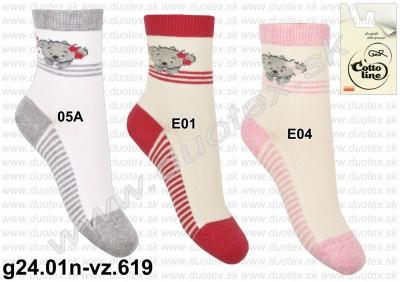 Detské ponožky g24.01n-vz.619