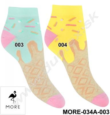 Dámske ponožky More-034A-003