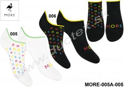 Dámske ponožky More-005A-005