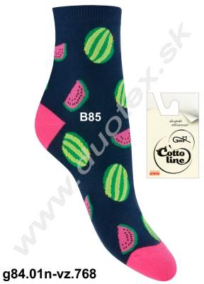 Dámske ponožky g84.01n-vz.768