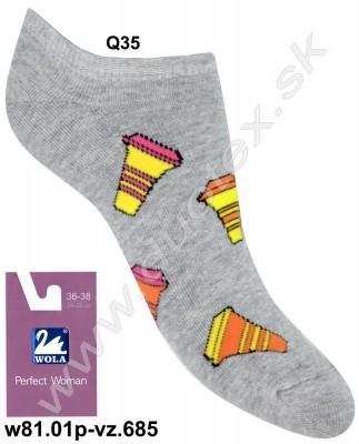 Dámske ponožky w81.01p-vz.685