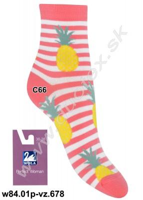Dámske ponožky w84.01p-vz.678