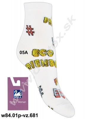 Dámske ponožky w84.01p-vz.681
