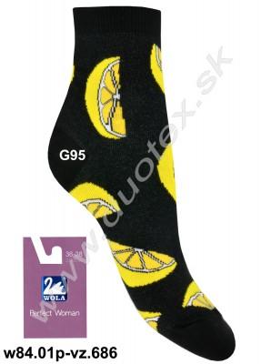 Dámske ponožky w84.01p-vz.686