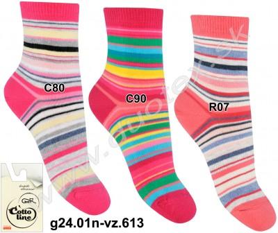 Detské ponožky g24.01n-vz.613
