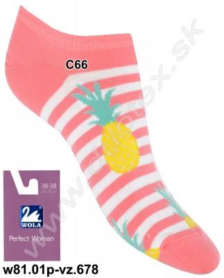 Dámske ponožky w81.01p-vz.678