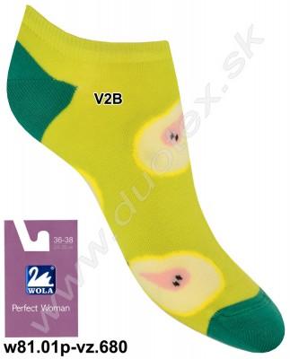 Dámske ponožky w81.01p-vz.680