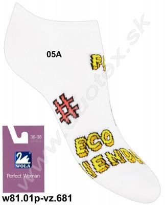 Dámske ponožky w81.01p-vz.681