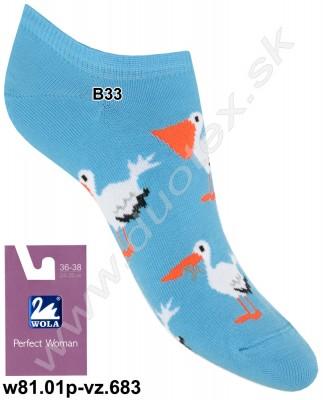 Dámske ponožky w81.01p-vz.683