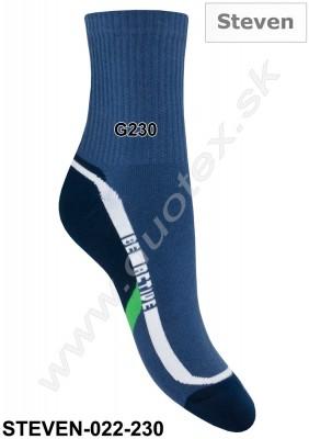 Bavlnené ponožky Steven-022-230