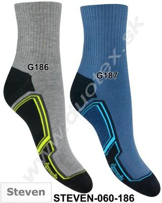 Vzorované ponožky Steven-060-186