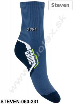 Vzorované ponožky Steven-060-231