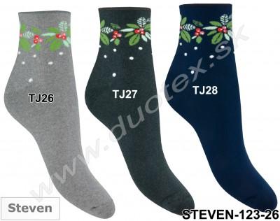 Froté ponožky Steven-123-26