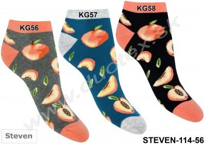 Dámske ponožky Steven-114-56