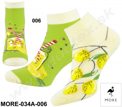 Dámske ponožky More-034A-006