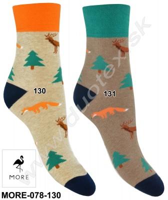 Dámske ponožky More-078-130